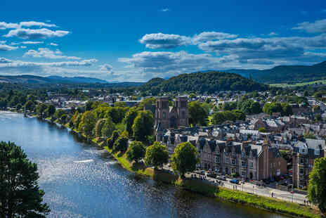 The Beaufort Hotel - Overnight Inverness getaway with dinner, breakfast, glass of Prosecco and late check out - Save 0%