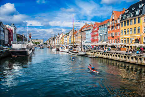 Travel Center - Escape with a two, three or four nights getaway to Copenhagen now with the ability to choose your flights - Save 17%