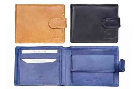 Pearl Fashion - Real leather mens wallet with Rfid protection - Save 0%