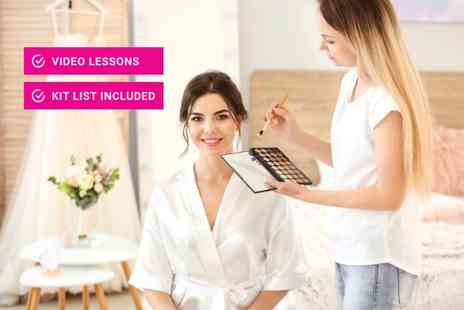 Educator London - Online makeup artist masterclass - Save 98%