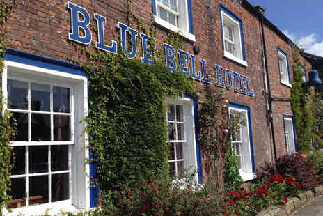 Blue Bell Hotel - Overnight break for two people with two course dinner and 12pm late check out - Save 58%