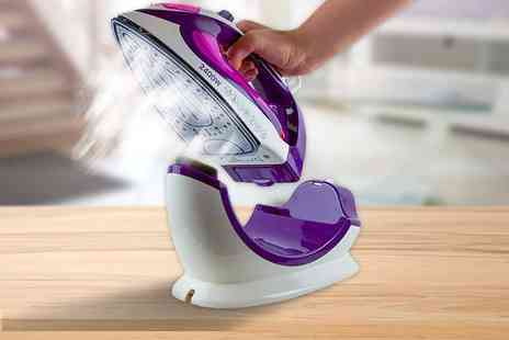 Groundlevel - Steam iron which works both cordless and corded - Save 80%