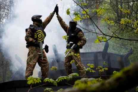 Delta Force Paintball - Full day paintball pass in Banbury - Save 0%
