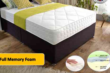 Dreamtouch Mattresses - Cool flex cool blue foam mattress - Save 74%
