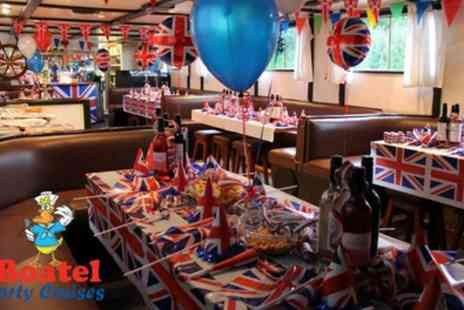 Boatel Party Cruises - Two Hour Private Boat Hire with Crew for Up to 60 People - Save 45%