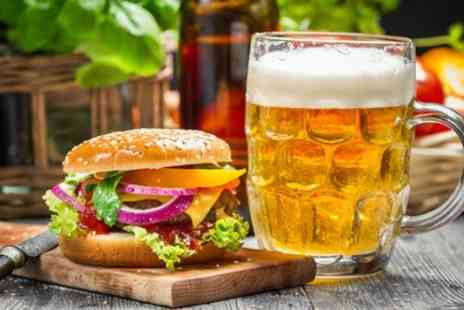 Mangobean Stockport - Choice of Burger with Beer or Milkshake for Two or Four - Save 41%