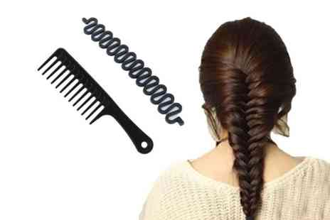 Forever Cosmetics - Glamza french braid and wide tooth comb - Save 82%