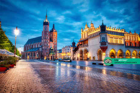 Travel Center - Escape with a two, three or four nights getaway to Krakow Now with the ability to choose your flight - Save 0%