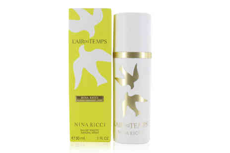 Wowcher Direct - 30ml Nina Ricci L Air Du Temps EDT - Save 40%