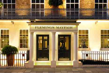 Flemings Mayfair Hotel - Five Star Unparalleled Luxury in Mayfairs Heart for two - Save 59%