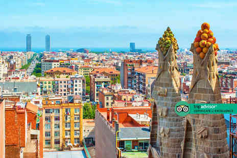 Refresh Holidays - Escape with a two, three or four nights getaway to Barcelona Now with the ability to choose your flight - Save 0%