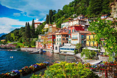 Travel Center - Escape with a two, three or four, five or seven nights all inclusive getaway to Lake Como Now with the ability to choose your flights - Save 0%