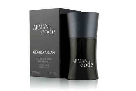 Wowcher Direct - 30ml Giorgio Armani Code Homme eau de toilette - Save 40%