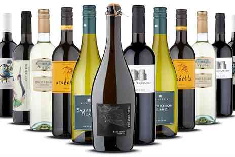 Naked Wines - 12 bottles of wine including bubbly - Save 61%