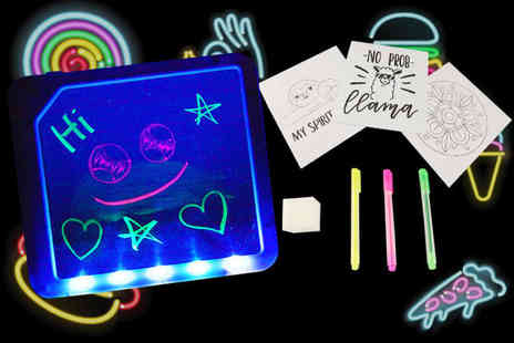 Direct2Public - Neon drawing board - Save 65%