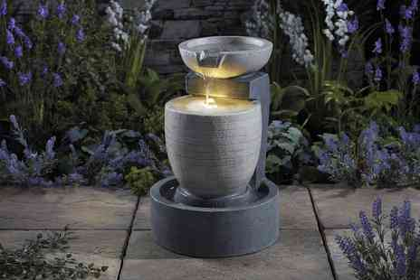 CJ Offers - Serenity garden water feature Choose from five designs - Save 50%