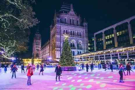 Golden Tours - Natural History Museum Ice Rink - Save 0%