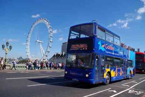Golden Tours - London Hop On Hop Off Bus Ticket Options - Save 0%