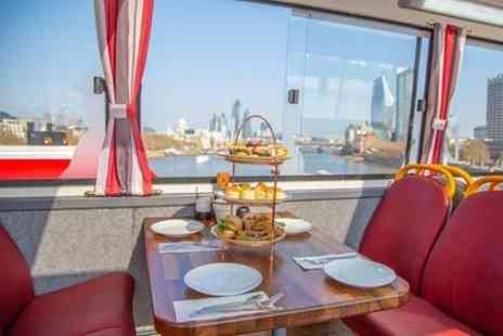 Golden Tours - Afternoon Tea Bus with Panoramic Tour of London - Save 0%