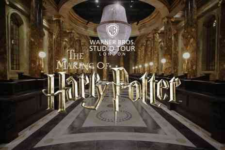 Golden Tours - Warner Bros Studio Tour London The Making of Harry Potter with Transportation - Save 15%