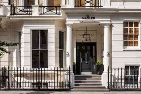 The Nadler Kensington - Four Star Townhouse Stay in the Royal Borough for two - Save 80%