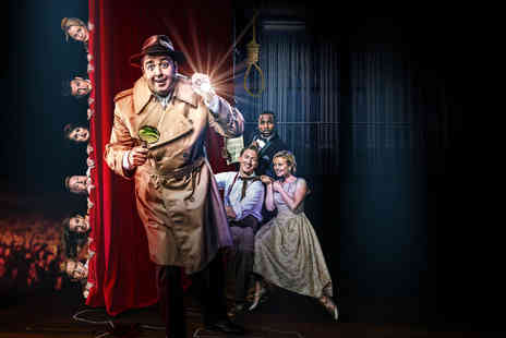 Blackpool Entertainment Company - Level four ticket for one person to Curtains A Musical Whodunnit - Save 43%