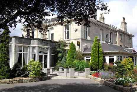 Grange Manor - Four Star Elegant Manor House Stay with Complimentary Dinner for two - Save 66%