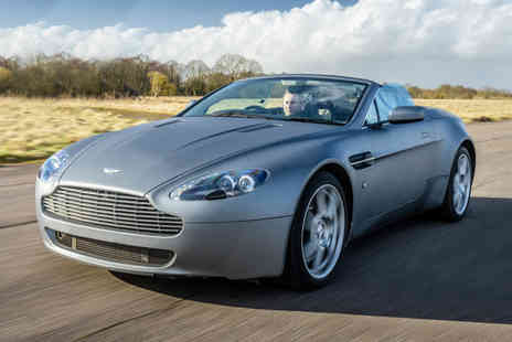U Drive Cars - Three lap Aston Martin Vantage driving experience - Save 71%