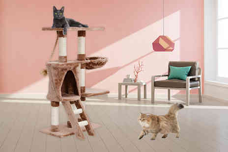 Mhstar - Cat tree with sisal post - Save 56%