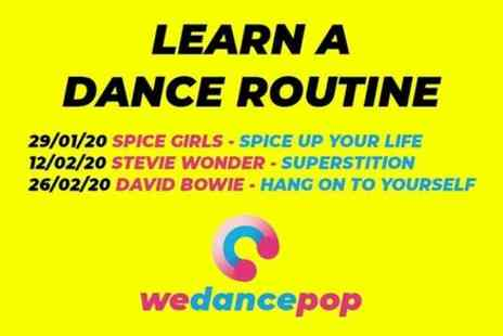 We Dance Pop - Learn a Dance Routine to a Great Pop Song - Save 0%