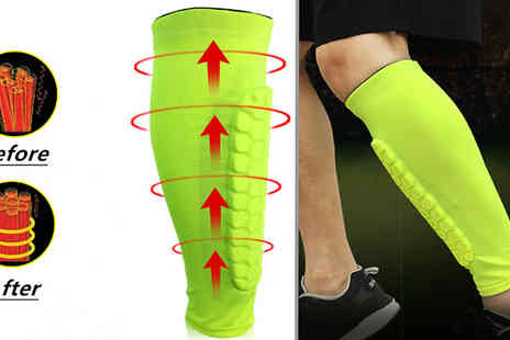 hey4beauty - 1 or 2 Breathable Leg Guards Choose from 5 Colours - Save 75%