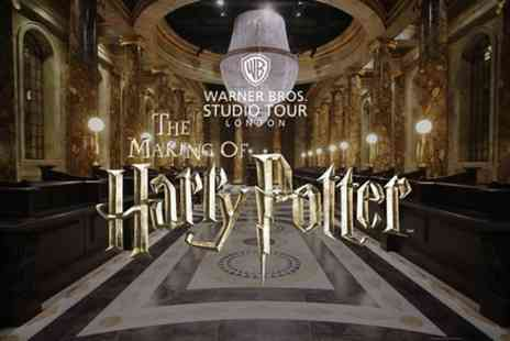 Golden Tours - Warner Bros Studio Tour London with Return Transfer by Coach - Save 0%