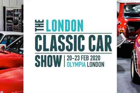 Brand Events International - The London Classic Car Show - Save 32%