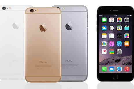 Ezy Gadgets - iPhone 6 With 16GB, 32GB, 64GB or 128GB Storage Plus Brand New Battery Choose from 3 Colours - Save 24%