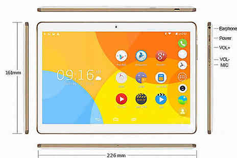 J Star Direct - 10 Inch Android WiFi 3G Smartpad Tablet Choose from 2 Colours - Save 81%