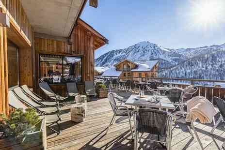 Anova Hotel & Spa - Four Star Charming Chalet in Peaceful Montgenevre Ski Resort for two - Save 40%