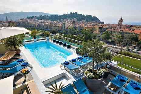 Hotel Aston La Scala - Four Star Idyllic Retreat with Rooftop Pool on the French Riviera for two - Save 73%