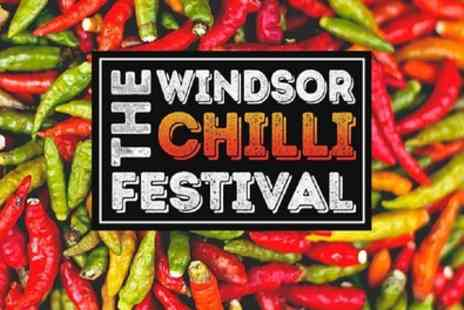 The Windsor Chilli Festival - Two adult weekend tickets or one family weekend ticket from 30th To 31st May - Save 51%