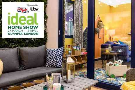 Media 10 - The Ideal Home Show Plus Kids Go Free - Save 50%