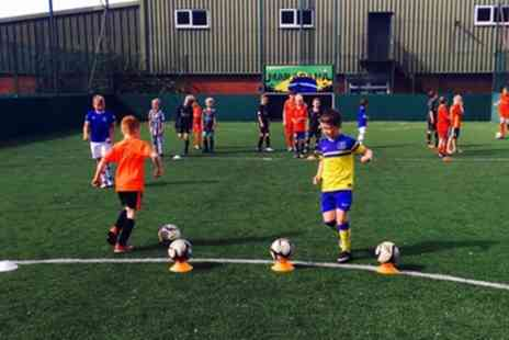 Active Soccer - Up to Six Soccer Sessions for One or Two Children - Save 0%