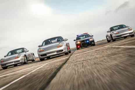 Drift Limits - Police Pursuit Mazda MX5 or Porsche Boxster Driving Experience for One or Two - Save 50%