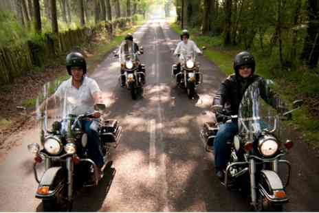 Virgin Experience Days - Full Day Ride Out on a Genuine USA Police Harley Davidson - Save 0%