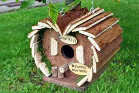Groupon Goods Global GmbH - One or Two Wooden Bird Hotels - Save 65%