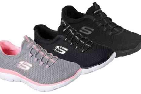 Groupon Goods Global GmbH - Skechers Womens Summits Sneakers - Save 50%