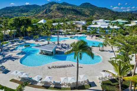 Senator Puerto Plata Spa Resort - Five Star All Inclusive Break at Stunning Spa Resort and Optional Big City Escape for two - Save 72%