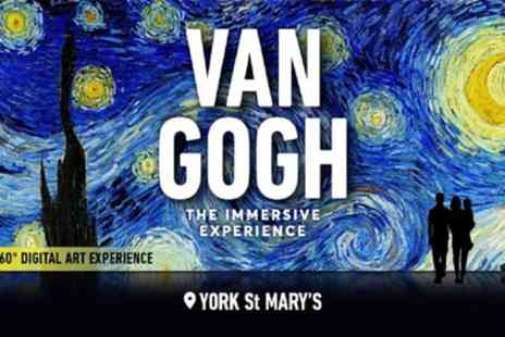 York St Marys - Tickets to see Van Gogh The Immersive Experience - Save 0%