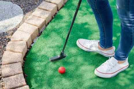 Out of Bounds - Round of Adventure Golf and Two Ten Pin Bowling Games for Up to Four - Save 29%