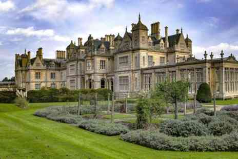 Stoke Rochford Hall Hotel - Afternoon Tea for Two or Four - Save 35%