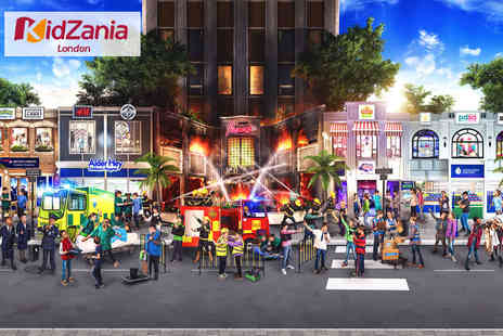 KidZania - Three hour entry visit Friday 4 pm To 7 pm - Save 28%