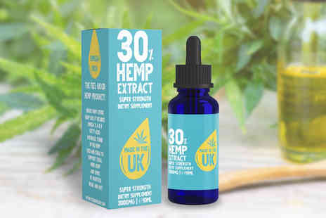 Canna CBD - Super strength hemp extract oil - Save 71%